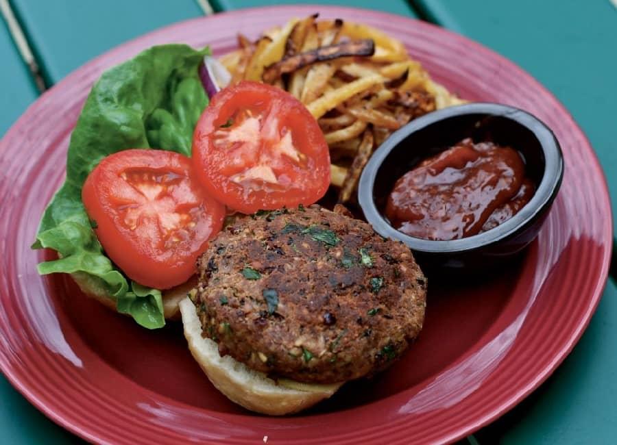 Resultado de imagem para hamburguer vegano de feijao